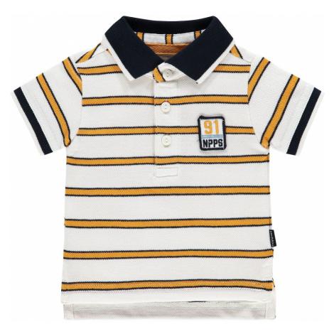 Noppies Tričko  žltá / biela / tmavomodrá