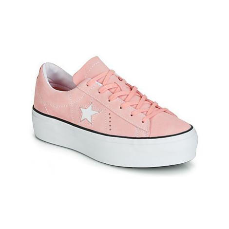 Converse ONE STAR PLATFORM SEASONAL COLOR OX Ružová