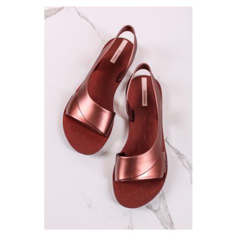 Bronzové gumené sandále Go Minimal Ipanema