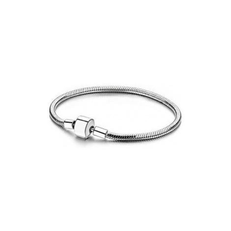Infinity Love Strieborný náramok na korálky a prívesky HC-186-kompatibilný s Pandora cm