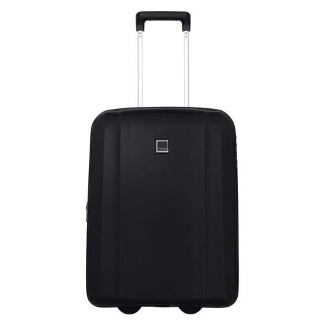 Titan Kabínový cestovný kufor Xenon 2w S exp USB Black 44/49 l
