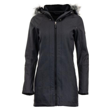 ALPINE PRO DUMUZA čierna - Dámsky softshellový kabát
