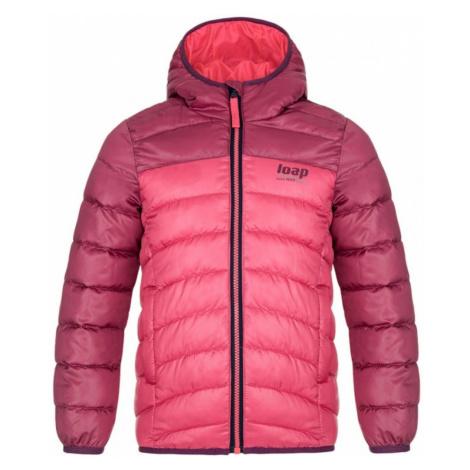 INBELO children's winter jacket pink LOAP