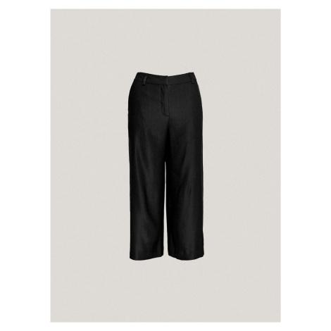Dámske nohavice culottes Pietro Filipi čierna