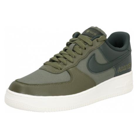 Nike Sportswear Nízke tenisky 'Air Force 1 GTX'  olivová / čierna
