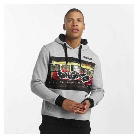Dangerous DNGRS / Hoodie Subwayfame in gray - Veľkosť:L