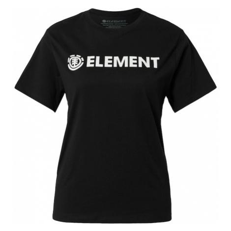 ELEMENT Funkčné tričko  čierna / biela