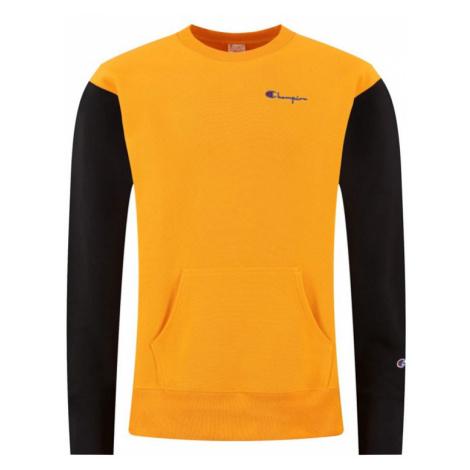 Champion Premium Crewneck Sweatshirt-XL žlté 214284_S20_OS030-XL
