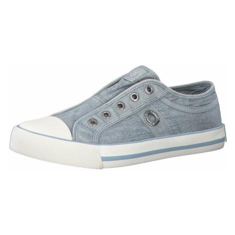 s.Oliver Slip-on obuv  modrosivá / biela