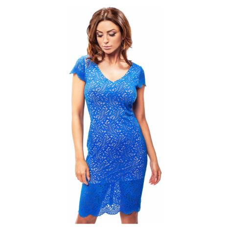 Modré šaty 190042 Enny