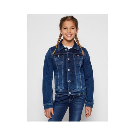 Pepe Jeans Prechodná bunda New Berry PG400211 Tmavomodrá Regular Fit
