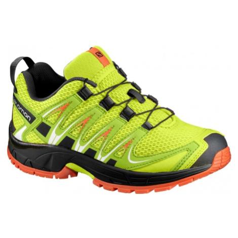 Salomon XA PRO 3D K zelená - Detská bežecká obuv