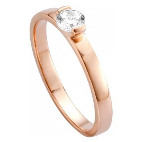 Esprit Strieborný prsteň s kryštálom Bright ESRG005316 mm