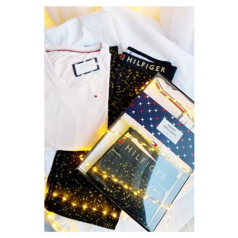 Darčekové balenie Tommy Hilfiger pyžamový set dámsky - tmavo modrá, ružová Veľkosť: XS