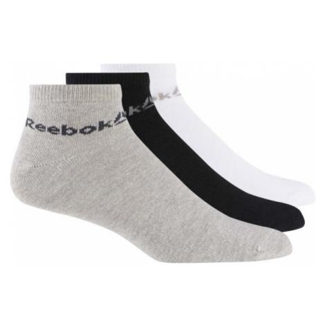 Reebok ACTIVE CORE ANKLE SOCK 3P biela - Unisex ponožky