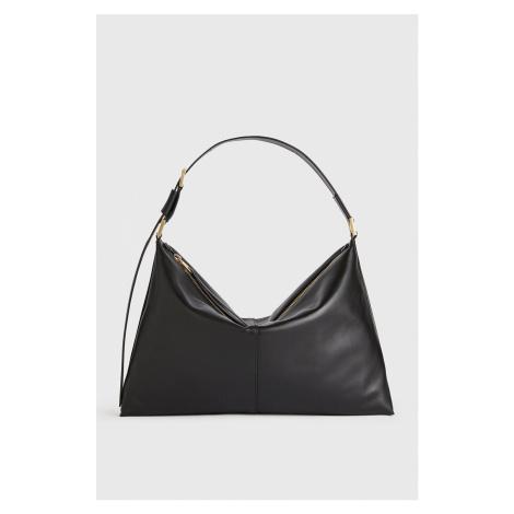 AllSaints - Kožená kabelka Edbury Shoulder