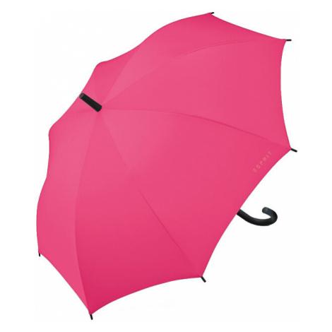 Esprit Palicový dáždnik Long AC Fandango Pink