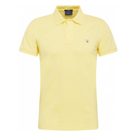 GANT Tričko 'Rugger'  svetložltá / sivá / námornícka modrá / červená