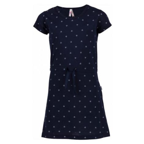 Lewro ATTILA tmavo modrá - Dievčenské šaty