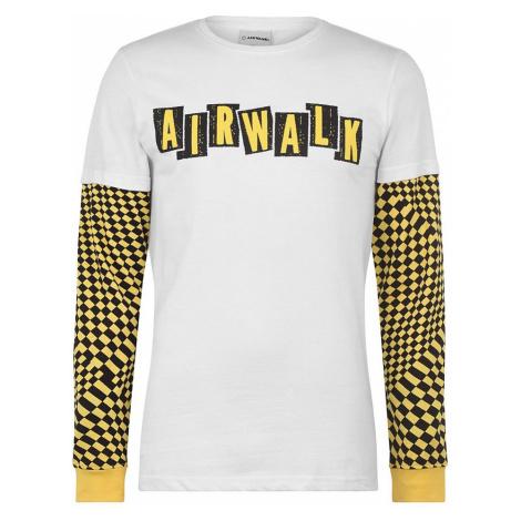 Pánske štýlové tričko s dlhým rukávom Airwalk