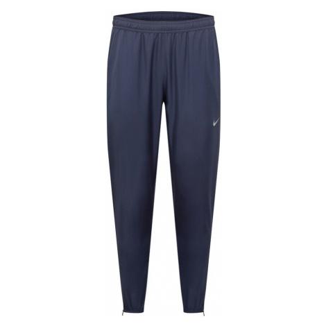 NIKE Športové nohavice 'Essential'  námornícka modrá / biela