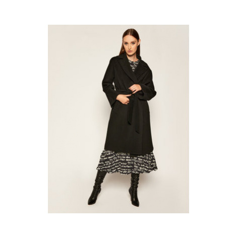 Weekend Max Mara Prechodný kabát Tanga 50160609 Čierna Regular Fit