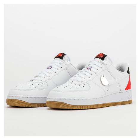 Nike Air Force 1 '07 LV8 white / white - bright crimson