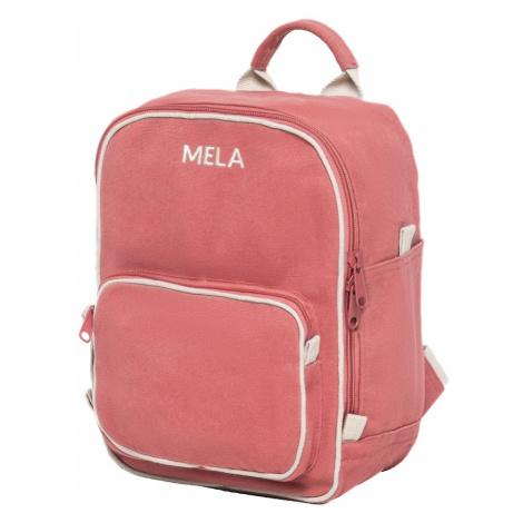 MELAWEAR Batoh 'MELA II Mini '  ružová / červená / béžová