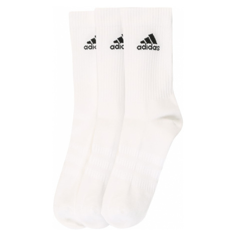 ADIDAS PERFORMANCE Športové ponožky 'CUSH CRW 3PP'  biela