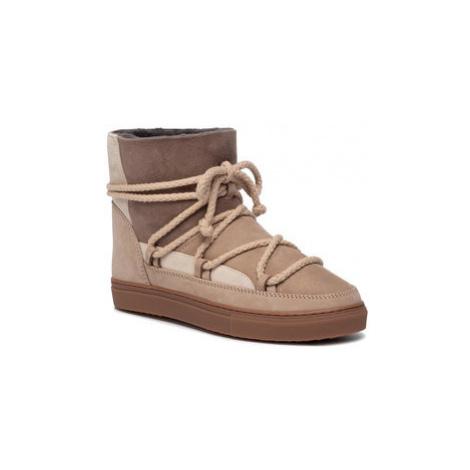 Inuikii Topánky Sneaker Patchwork 70102-75 Béžová