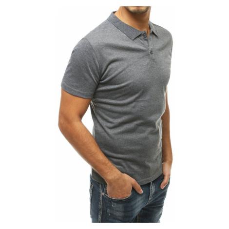 Men's gray polo shirt PX0317 DStreet