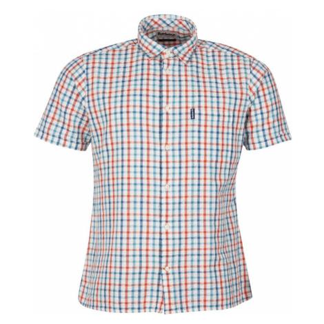 Barbour Letná kockovaná košeľa Barbour Seersucker 7 - Aqua