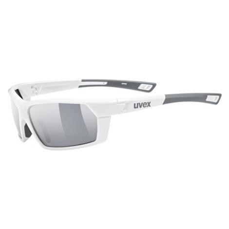 Cyklistické Okuliare Uvex Sportstyle 225 Bielo-Sivé