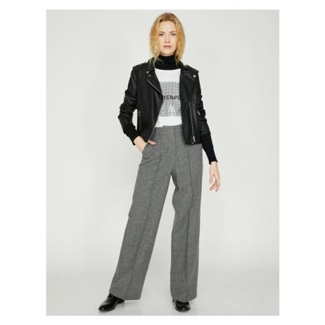 Koton Women Gray Trousers