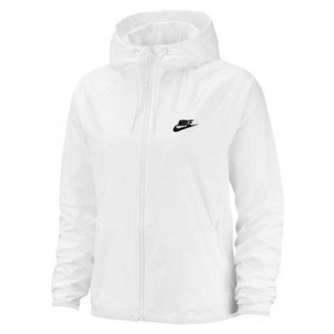 Nike NSW WR JKT biela - Dámska bunda