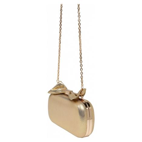 mascara Listová kabelka  zlatá