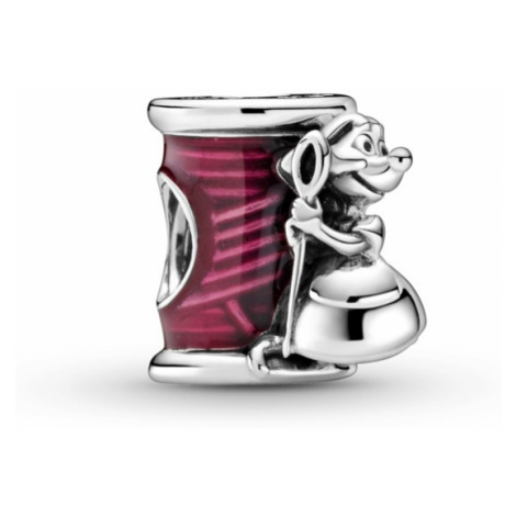 Pandora Strieborný korálik Disney Popoluškina myška Suzy 799200C01