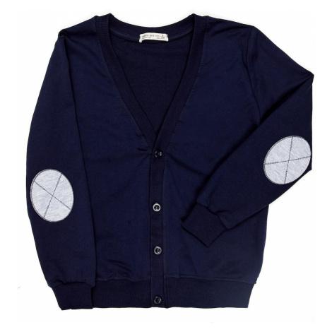 Navy blue sweatshirt for a boy