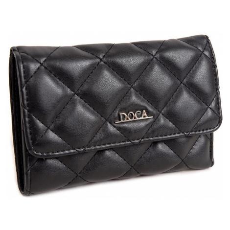 Dámska peňaženka Doca 650010 - čierna