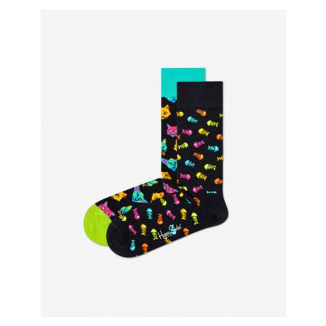 Happy Socks Cat Gift Box Ponožky 2 páry Viacfarebná