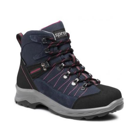 Šnurovacia obuv Sprandi Outdoor Performance 13780.1S Prírodná koža(useň) - Zamš