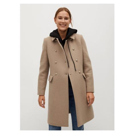 Dámsky kabát Mango Beige