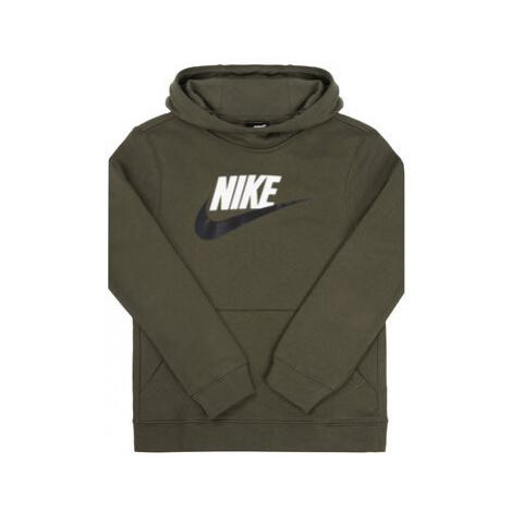 Nike Mikina Club BV0783 Zelená Standard Fit