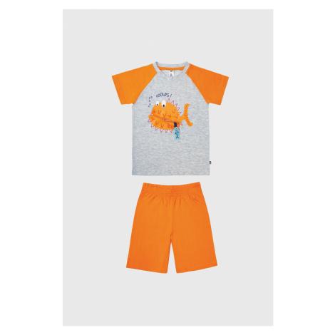 Chlapčenské pyžamo Rybka oranžová