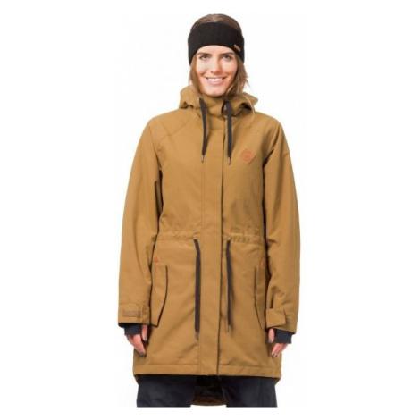 Horsefeathers POPPY JACKET hnedá - Dámska lyžiarska/snowboardová bunda
