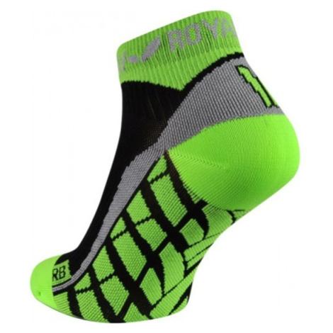 Ponožky ROYAL BAY® Air Low-Cut black / green 9688