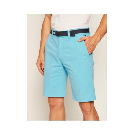 Tommy Jeans Bavlnené šortky Tjm Vintage Wash DM0DM07932 Modrá Regular Fit Tommy Hilfiger