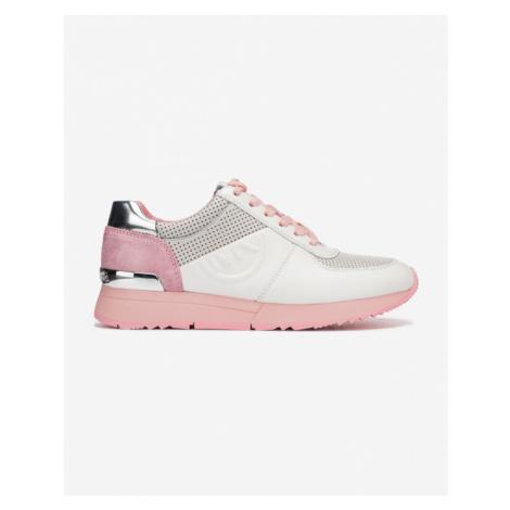 Michael Kors Allie Trainer Tenisky Ružová Biela Strieborná