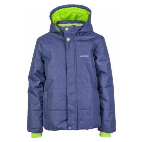 Lewro PALMER modrá - Chlapčenská zimná bunda