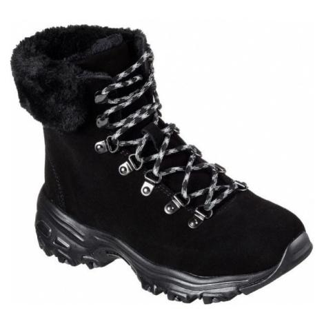 Skechers D'LITES ALPS čierna - Dámska zimná obuv